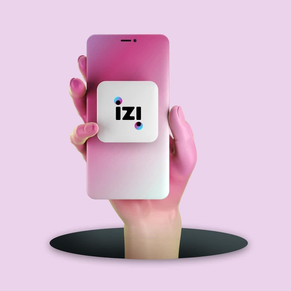 izi: новый сотовый оператор izi mobile, 5ГБ в подарок бесплатная доставка